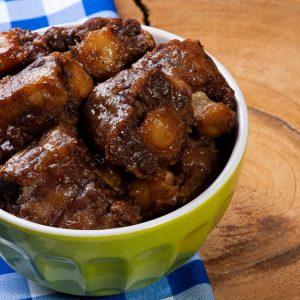 Oxtail. Typical dish of Brazilian cuisine.
